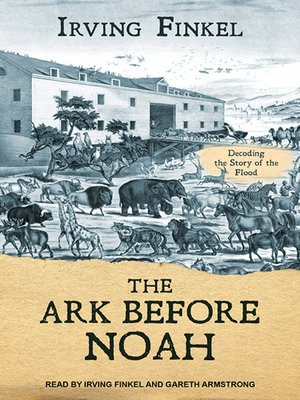 cover image of The Ark Before Noah