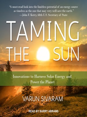 cover image of Taming the Sun