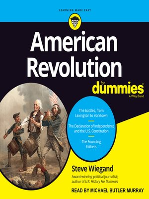 cover image of American Revolution for Dummies