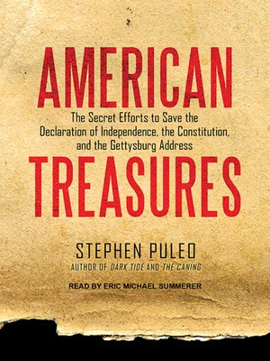 cover image of American Treasures