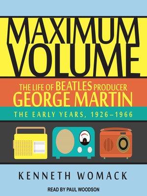 cover image of Maximum Volume