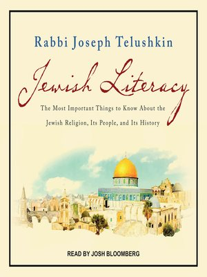 cover image of Jewish Literacy Revised Ed