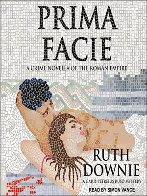 cover image of Prima Facie
