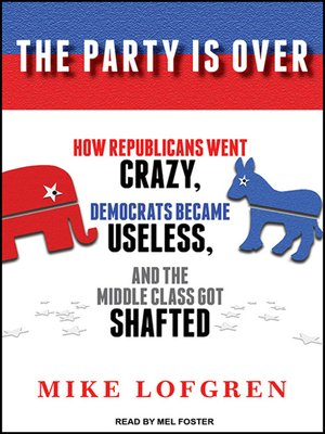 cover image of The Party Is Over