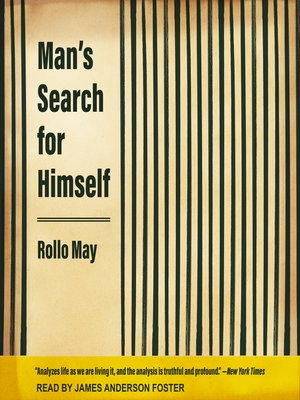 cover image of Man's Search for Himself