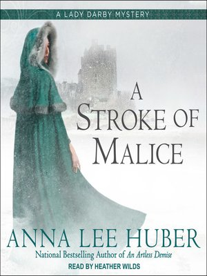 cover image of A Stroke of Malice