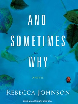 cover image of And Sometimes Why