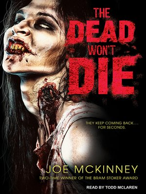 cover image of The Dead Won't Die
