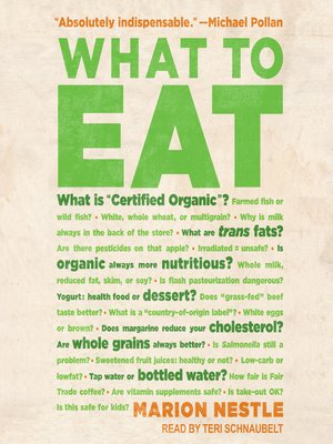 cover image of What to Eat