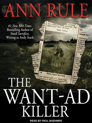 cover image of The Want-Ad Killer