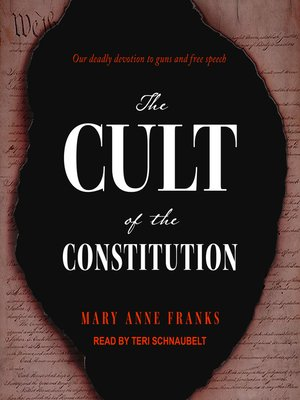 cover image of The Cult of the Constitution