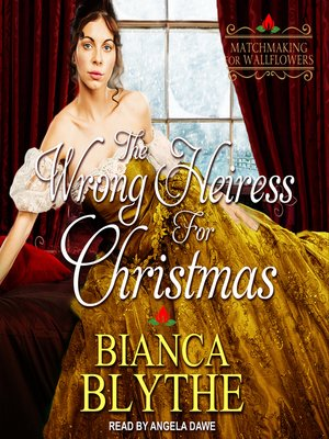 cover image of The Wrong Heiress for Christmas