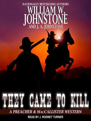 cover image of They Came to Kill
