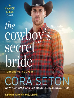 cover image of The Cowboy's Secret Bride