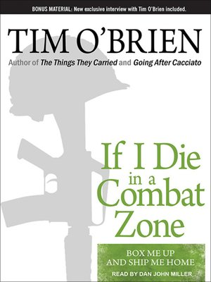 cover image of If I Die in a Combat Zone