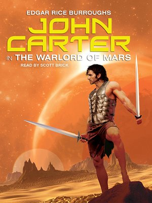 cover image of John Carter in the Warlord of Mars