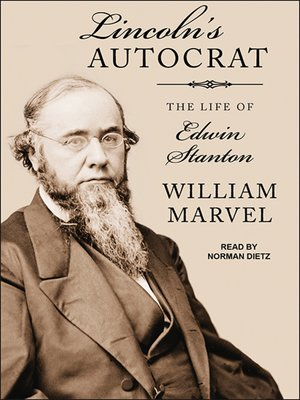cover image of Lincoln's Autocrat--The Life of Edwin Stanton
