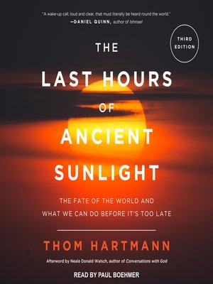 cover image of The Last Hours of Ancient Sunlight Revised and Updated