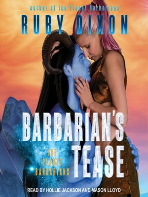 cover image of Barbarian's Tease