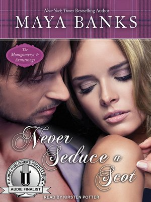 cover image of Never Seduce a Scot