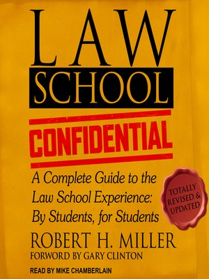cover image of Law School Confidential