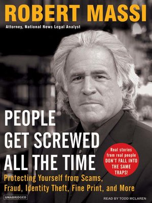 cover image of People Get Screwed All the Time