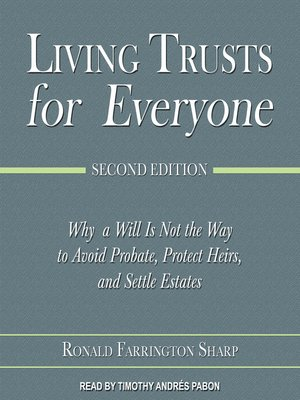 cover image of Living Trusts for Everyone