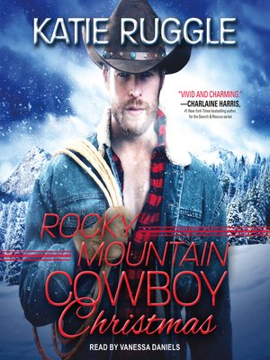 cover image of Rocky Mountain Cowboy Christmas