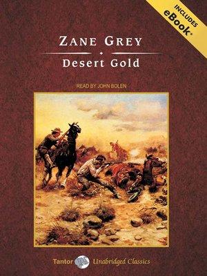 cover image of Desert Gold