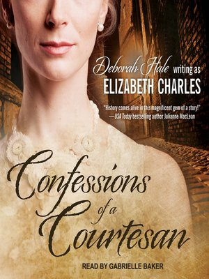 cover image of Confessions of a Courtesan