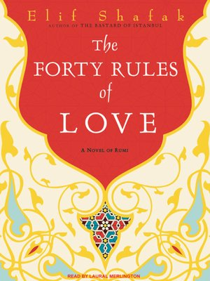 cover image of The Forty Rules of Love