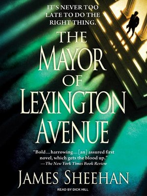 cover image of The Mayor of Lexington Avenue