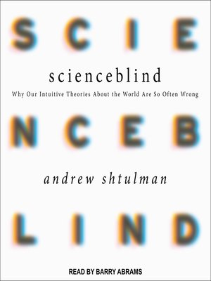 cover image of Scienceblind