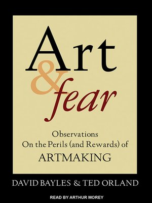 cover image of Art & Fear