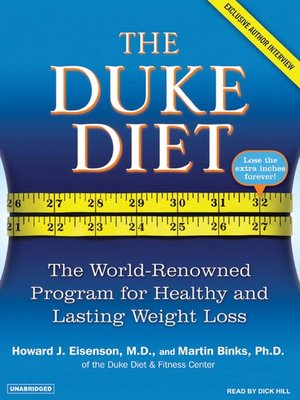 cover image of The Duke Diet