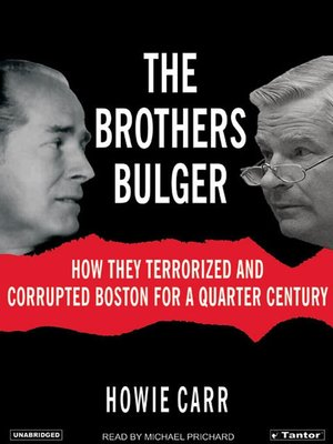 cover image of The Brothers Bulger