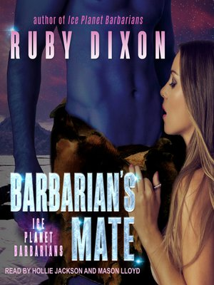 cover image of Barbarian's Mate--A SciFi Alien Romance