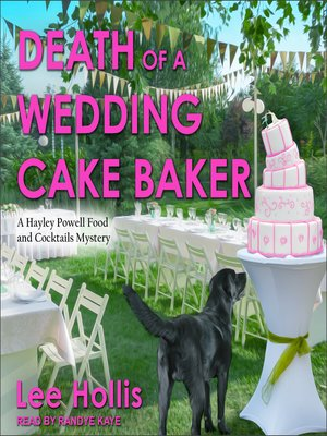 cover image of Death of a Wedding Cake Baker