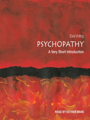 cover image of Psychopathy