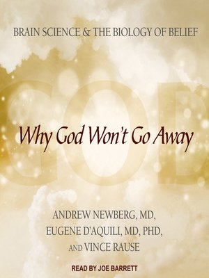 cover image of Why God Won't Go Away
