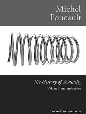 cover image of The History of Sexuality, Volume 1