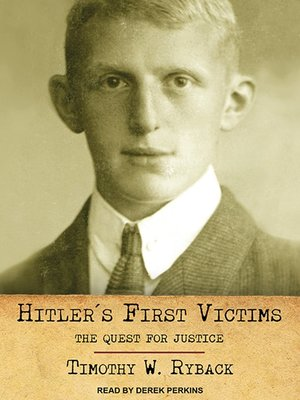cover image of Hitler's First Victims