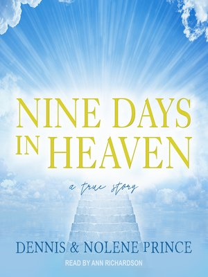 cover image of Nine Days in Heaven