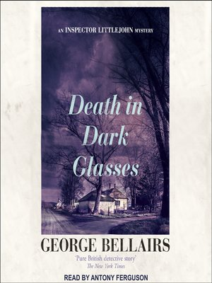 cover image of Death in Dark Glasses