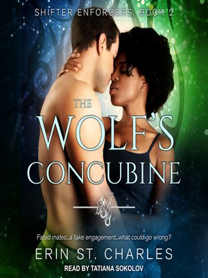 cover image of The Wolf's Concubine