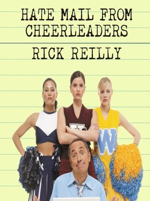 cover image of Hate Mail from Cheerleaders
