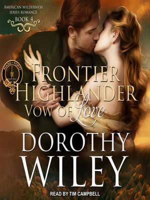 cover image of Frontier Highlander Vow of Love