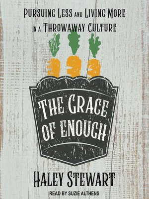 cover image of The Grace of Enough