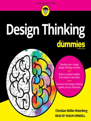 cover image of Design Thinking For Dummies