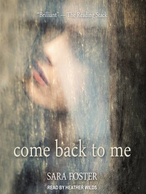 cover image of Come Back to Me